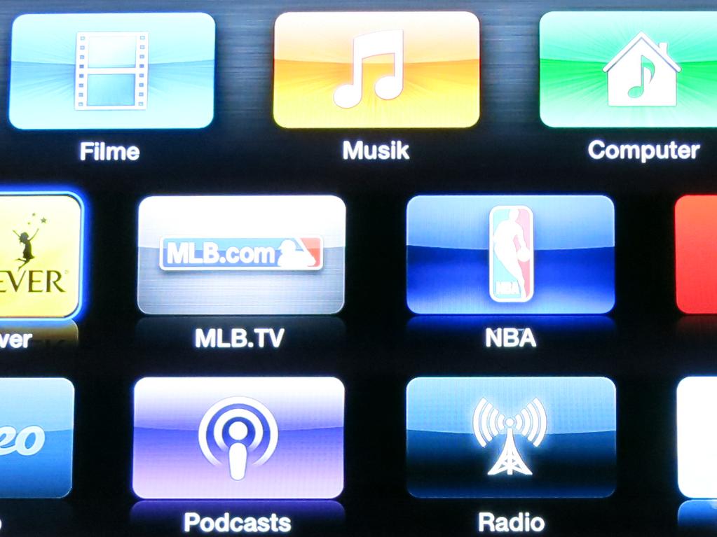 Reihenfolge der Icons auf dem Apple TV ändern