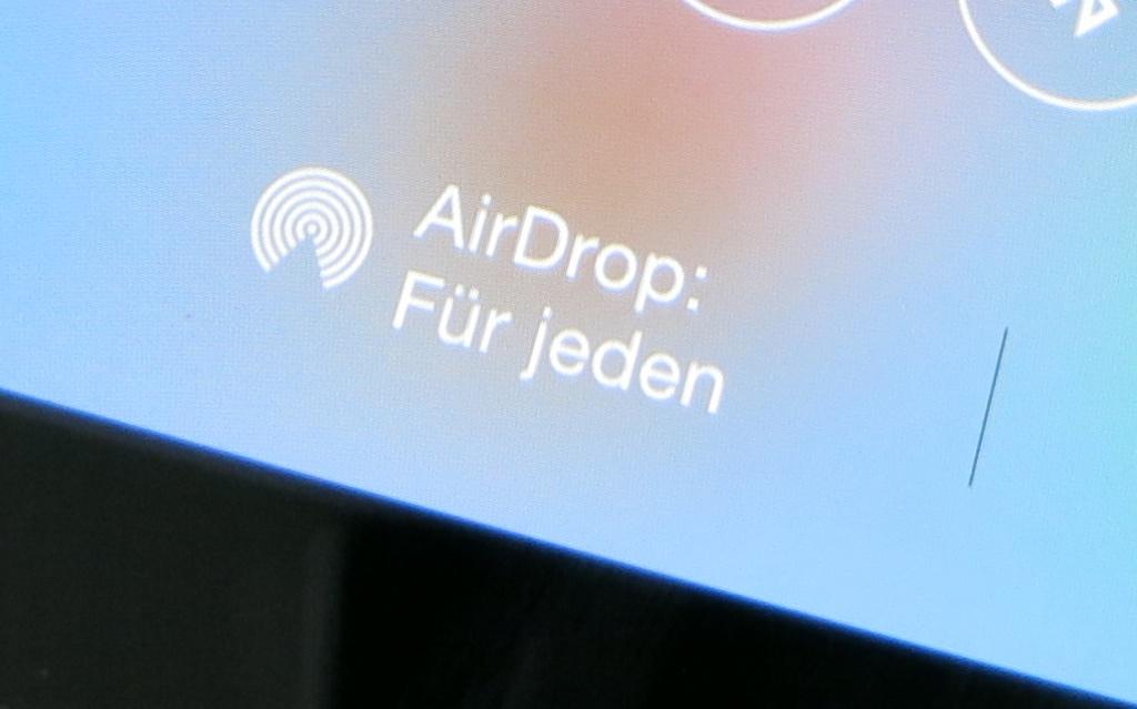 Lokaler Datei- und Datenaustausch zwischen iPads, iPhones oder iPod touch via AirDrop