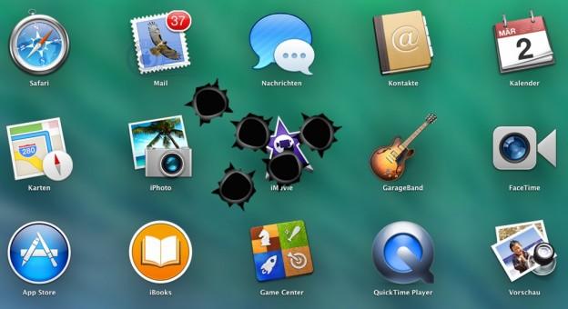 Abgestürzte Programme unter OS X sofort beenden