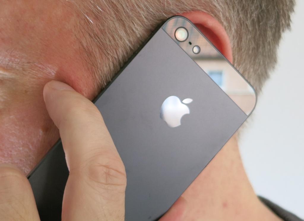Siris Zum Sprechen ans Ohr deaktivieren