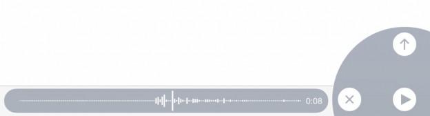 Sprachaufnahme in Nachrichten unter iOS aufnehmen und versenden