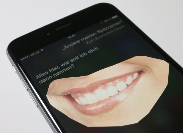 Eigenen Spitznamen für die Verwendung von Siri ändern
