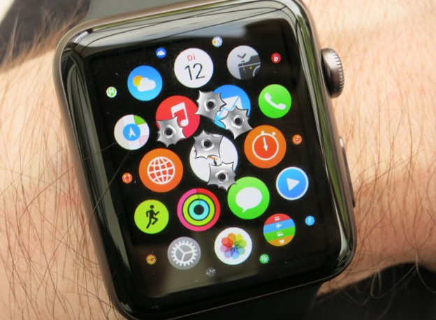 Abgestürzte Apps auf der Apple Watch beenden