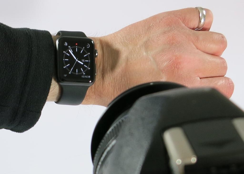 Screenshot auf der Apple Watch anfertigen