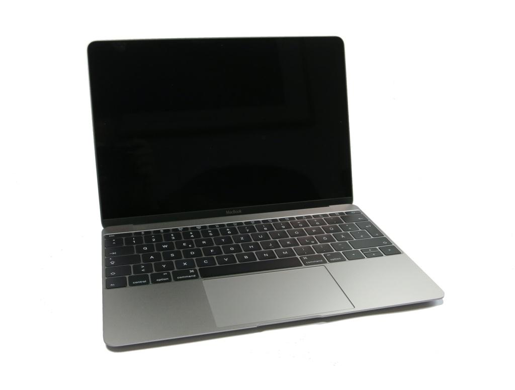 MacBook12 aufgeklappt