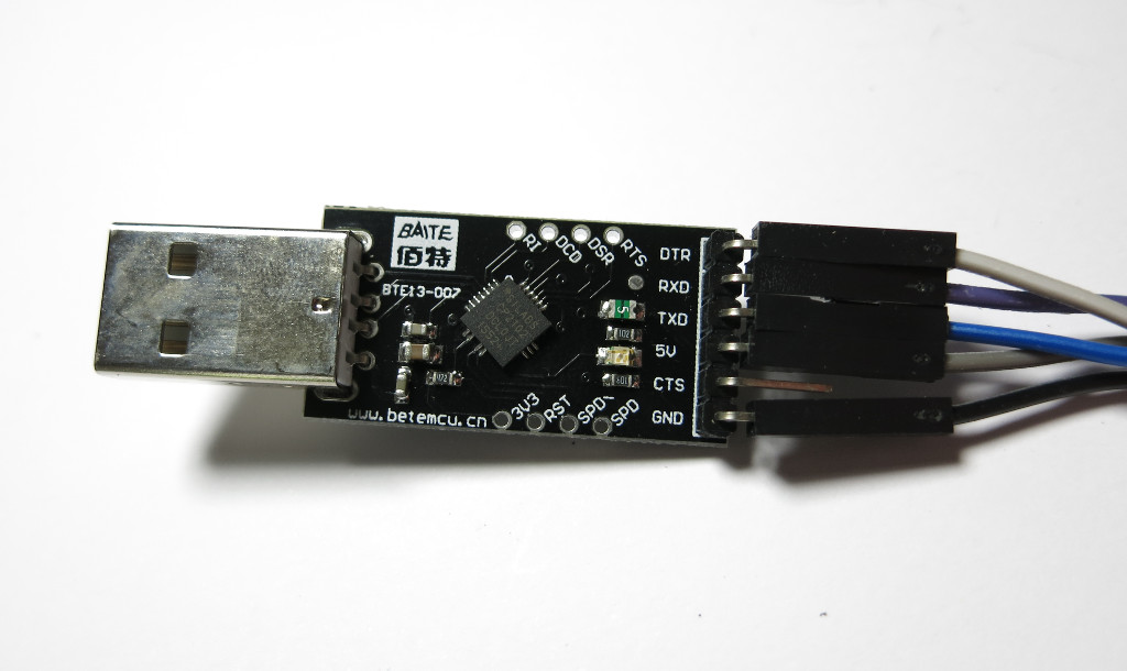 Bikey USB-TTL-Adapter
