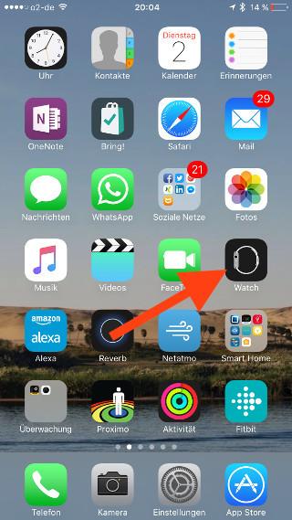 Siris Sprachausgabe auf der Apple Watch mit Voiceover simulieren Aktivierung iOS 01