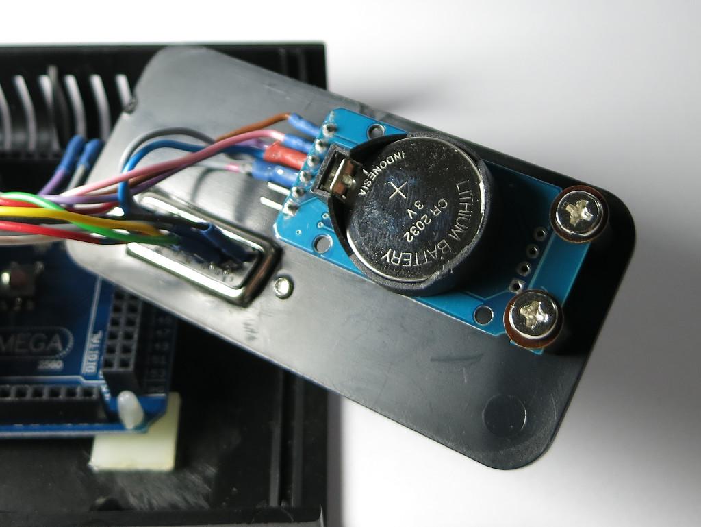 Strauchie-Bot RTC mit Pufferbatterie
