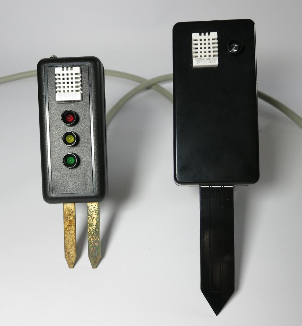 Strauchie-Bot Sensoreinheiten