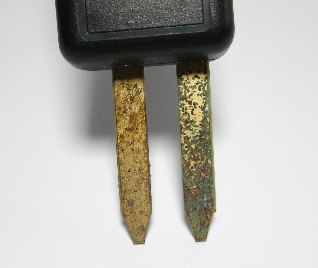 Strauchie-Bot zersetzte Elektroden
