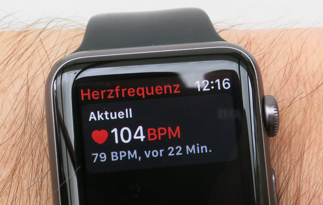 Pulsmessung der Apple Watch verbessern