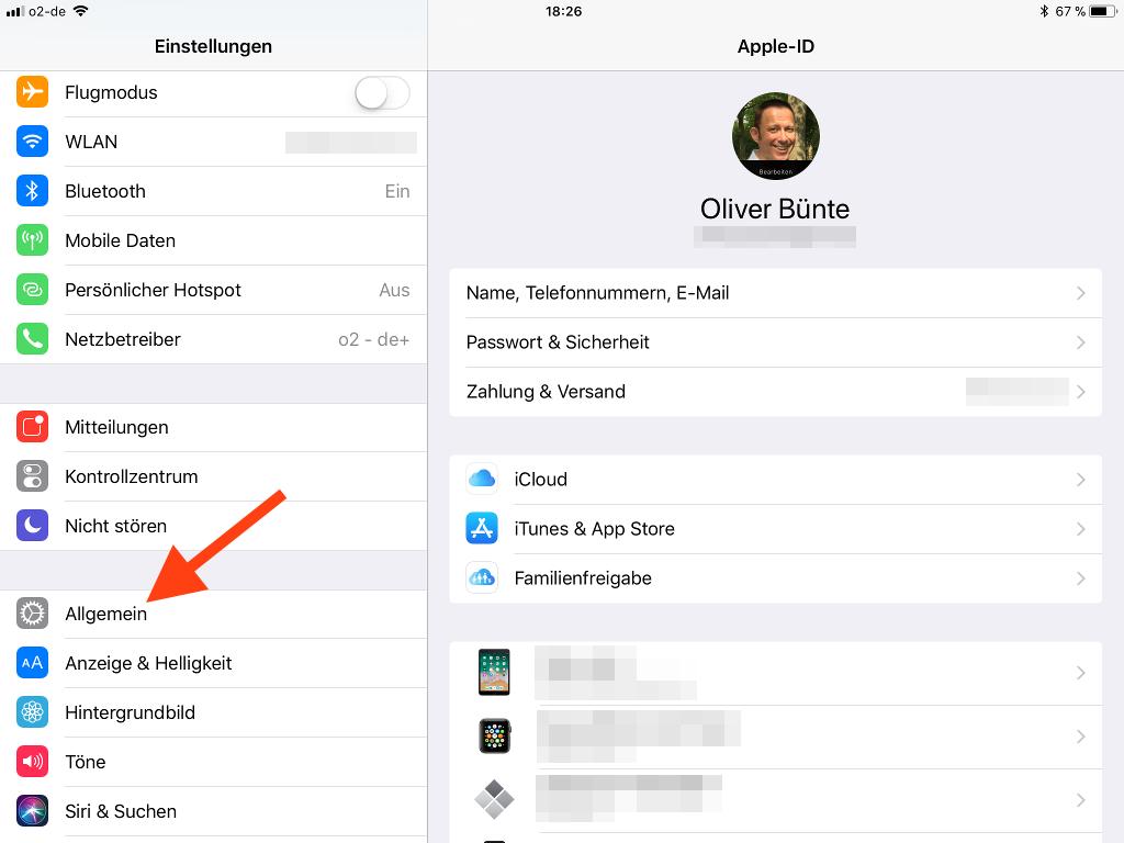 Vorgeschlagene und letzte Apps im Dock des Apple iPad entfernen Allgemein aufrufen