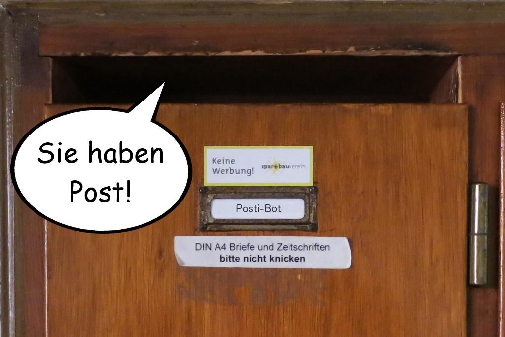 Posti-Bot Smarter Briefkasten mit Espressif ESP32