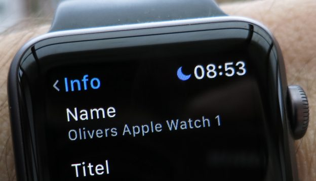 Name der Apple Watch ändern