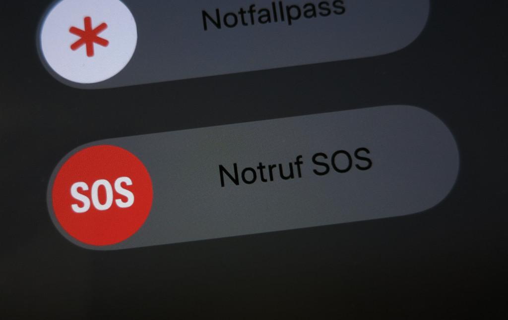 SOS-Notruffunktion auf dem Apple iPhone 8, 8 Plus und X abschalten