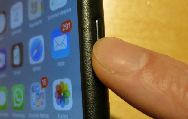 Dreifachklick der Seitentaste des Apple iPhone mit einer Funktion belegen