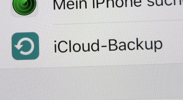 iCloud-Backup unter iOS manuell starten