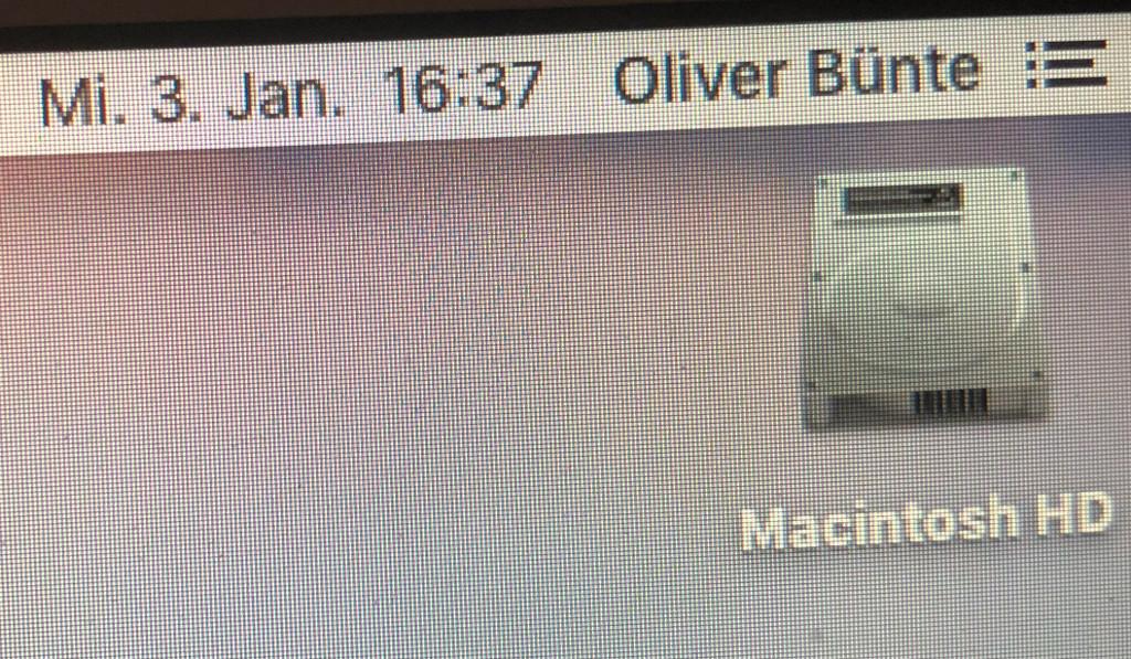 Datum in der Menüleiste des Mac anzeigen