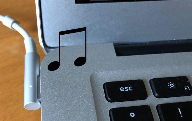 Ladevorgangstart akustisch am Mac signalisieren