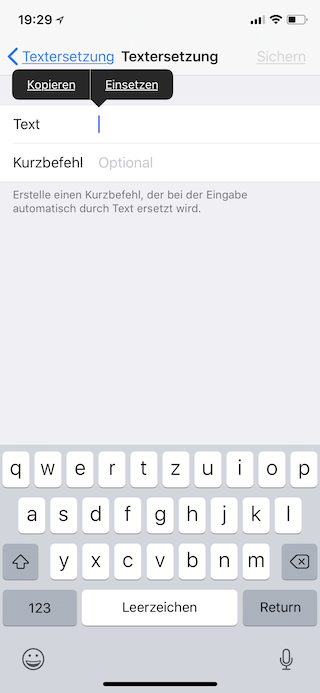 Apple-Logo als Emoji auf dem Apple iPhone iPad und Mac einsetzen Apple-Symbol einfügen