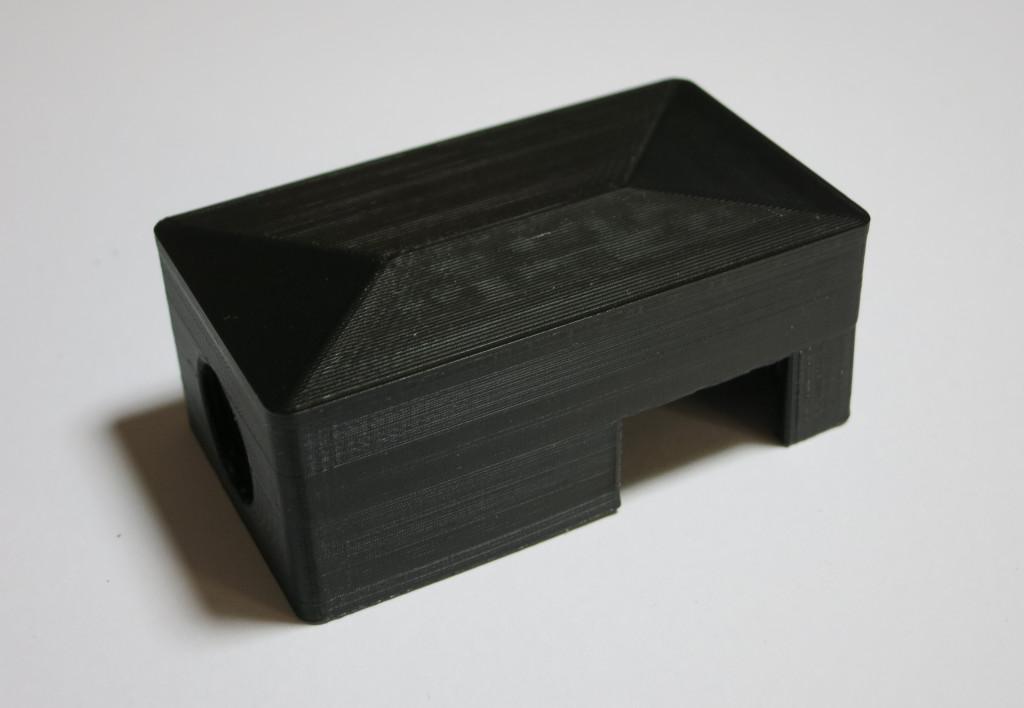 Bag-y Taschenalarm und Innenbeleuchtung mit Arduino Pro mini Gehäusedeckel