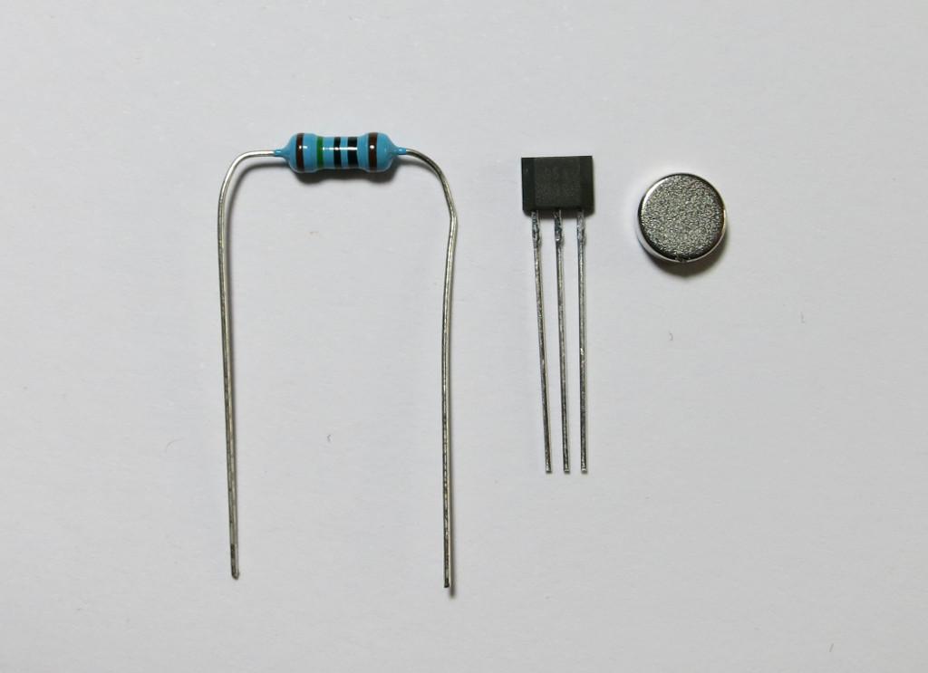 Bag-y Taschenalarm und Innenbeleuchtung mit Arduino Pro mini Hall-Sensor mit Magnet