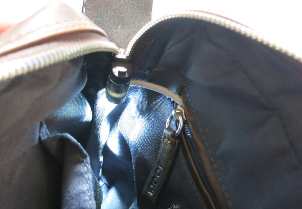 Bag-y Taschenalarm und Innenbeleuchtung mit Arduino Pro mini Sensor und Innenbeleuchtung in Tasche