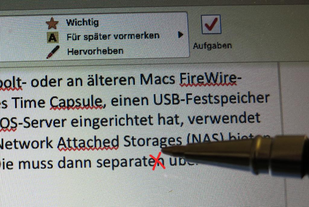 Autokorrektur auf dem Mac ausschalten