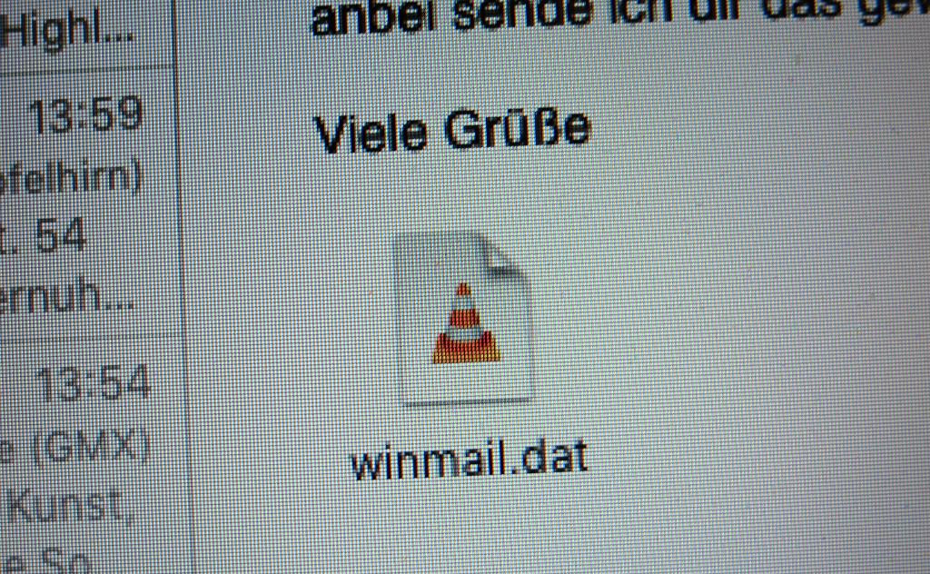 E-Mail-Anhang winmail.dat mit Bordmitteln des Mac öffnen