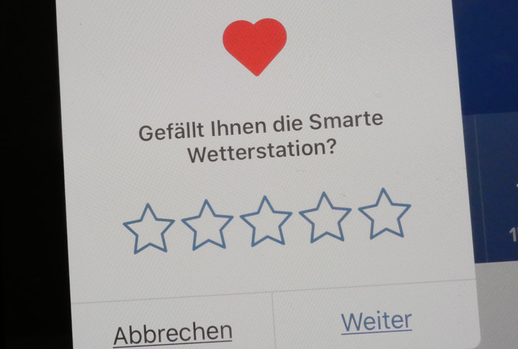 In-App-Bewertungen auf dem Apple iPhone und iPad ausschalten