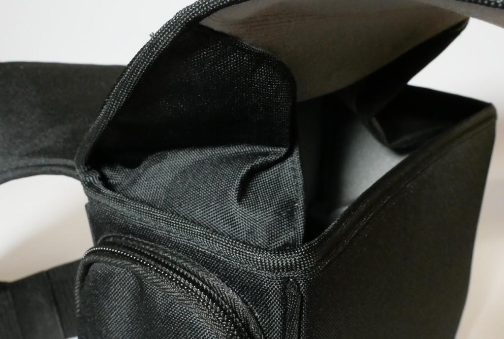 Test Cosyspeed Camslinger Speedomatic Kompakte DSLR- und DSLM-Kameratasche für die Hüfte Schutzlasche