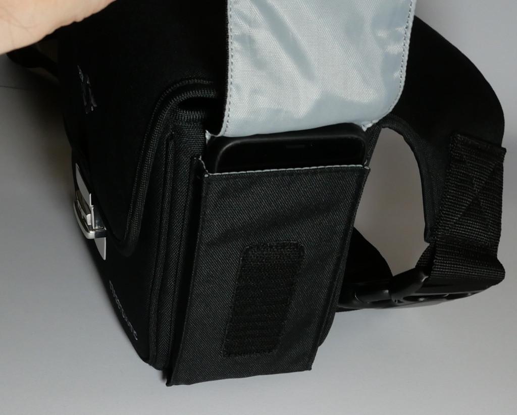 Test Cosyspeed Camslinger Speedomatic Kompakte DSLR- und DSLM-Kameratasche für die Hüfte Seitentasche mit Klett