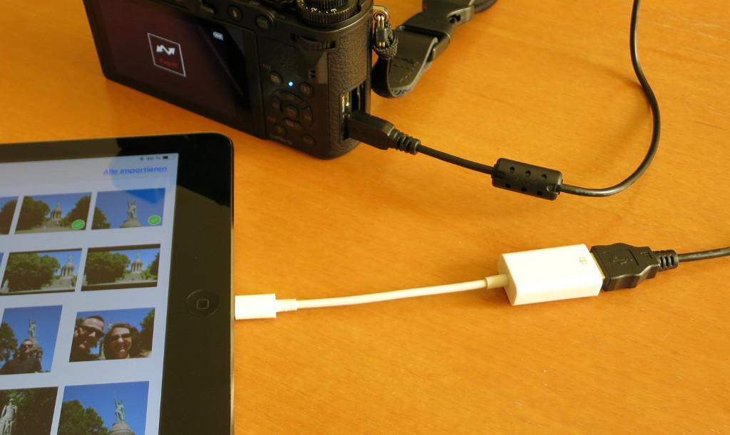 Test NK 102 Lightning zu USB-Kamera-Adapter Preisgünstiger Ersatz für das Apple Camera Connection Kit