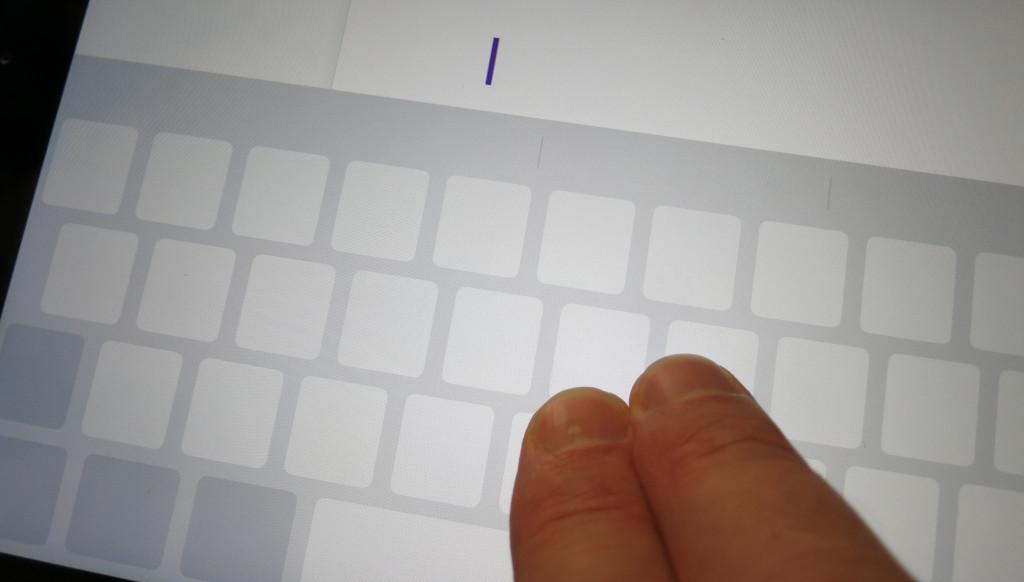 Textcursor auf dem Apple iPhone oder iPad ohne 3D Touch bewegen