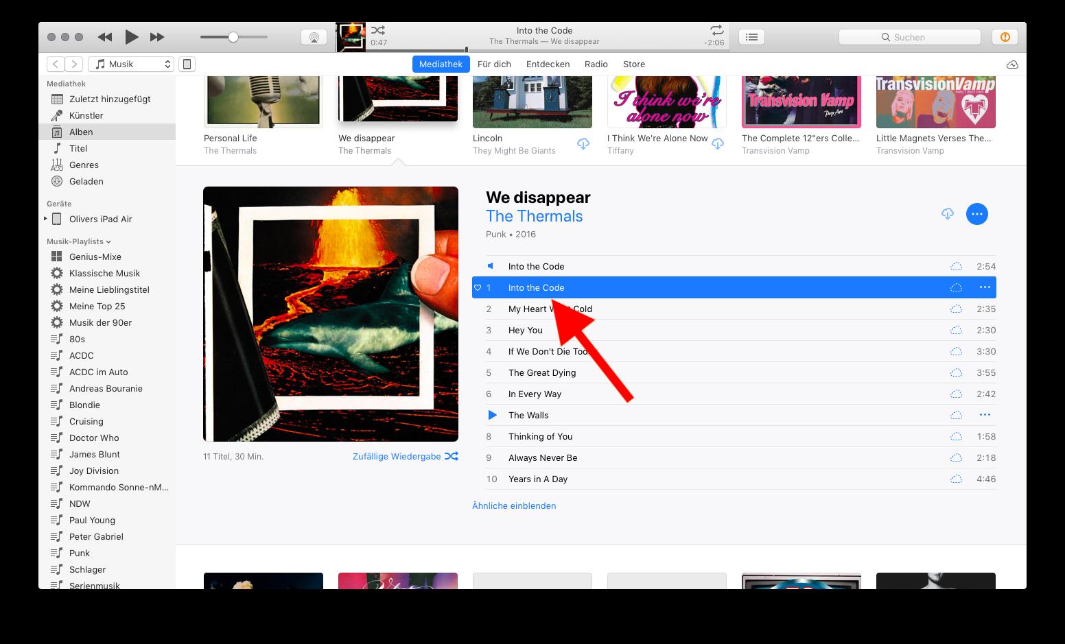 Klingelton und Textton für das Apple iPhone mit iTunes erstellen 12 Rechtsklick auf Song für Finder