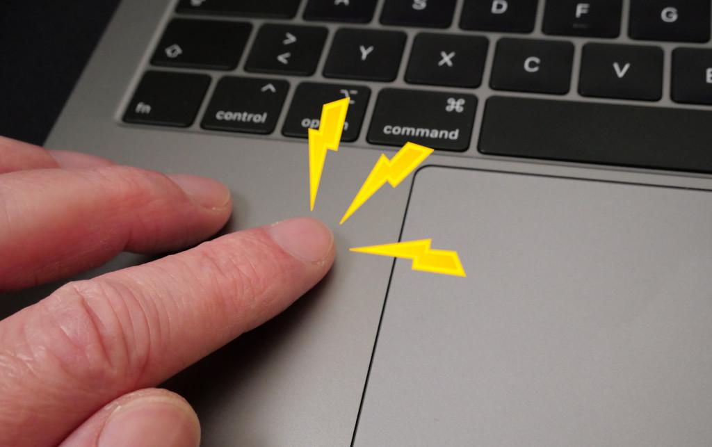 Kribbeln und Vibrieren am Gehäuse des MacBook, MacBook Pro und Air beseitigen