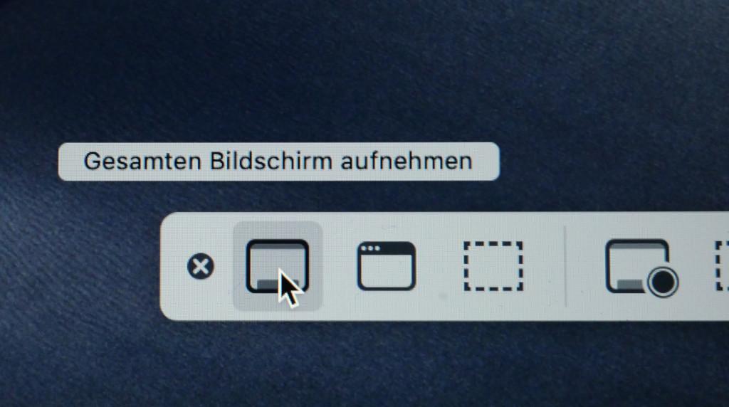 Screenshots und Bildschirmvideos unter macOS anfertigen