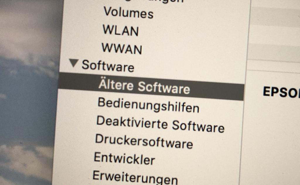 32-Bit-Apps unter macOS finden und aussortieren