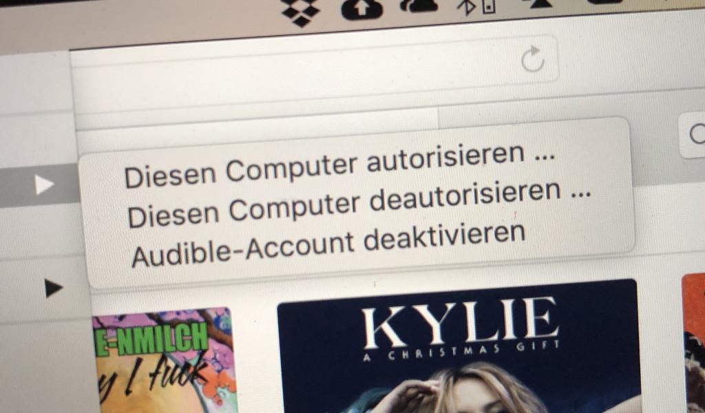 Mac deautorisieren und autorisieren
