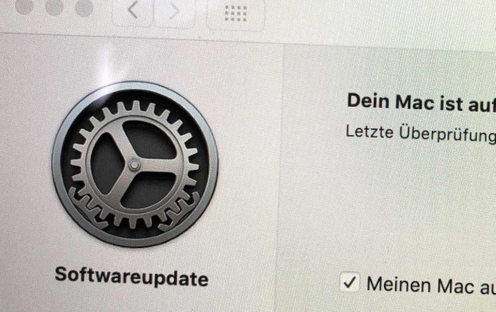 Updates für das System und Apps unter macOS einstellen