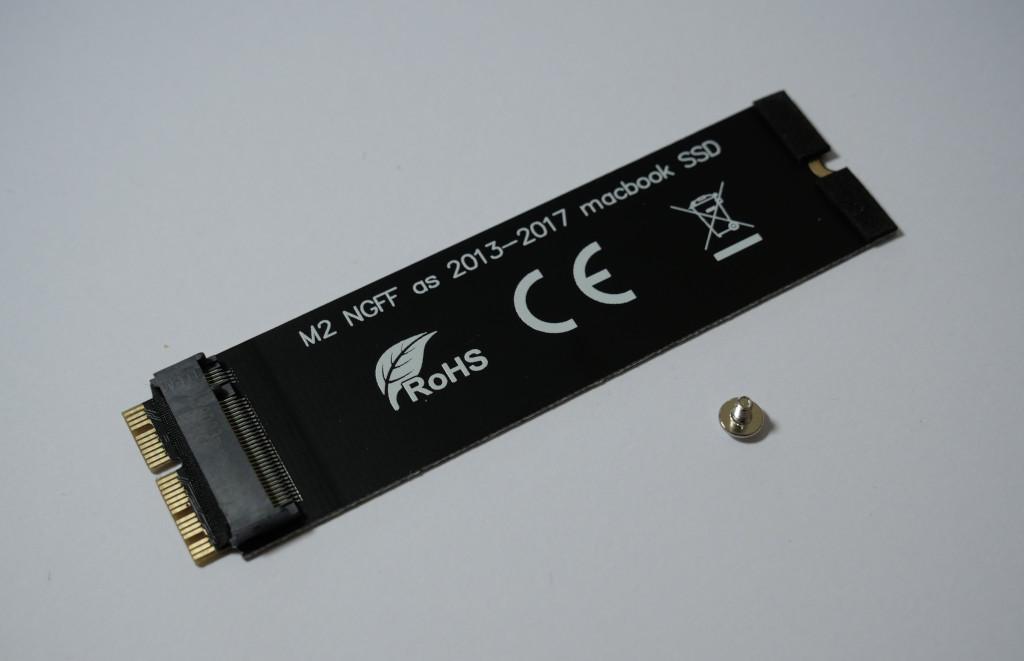 Turbo für den Mac mini PCIe-SSD einbauen PCIe-SSD-Adapter
