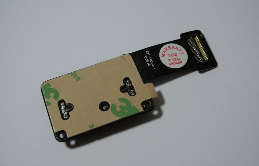 Turbo für den Mac mini PCIe-SSD einbauen PCIe-SSD-Kabel