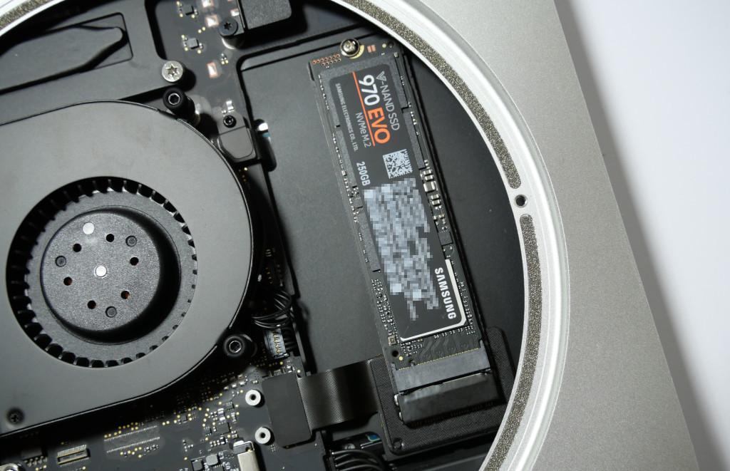 Turbo für den Mac mini PCIe-SSD einbauen