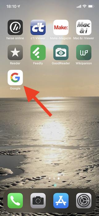 Grogu das Kind von The Mandalorian virtuell ins Wohnzimmer holen Google App aufrufen